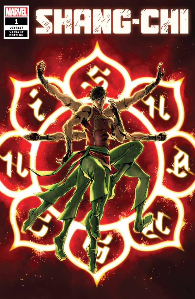 Shang-Chi #1 (Superlog Cover)