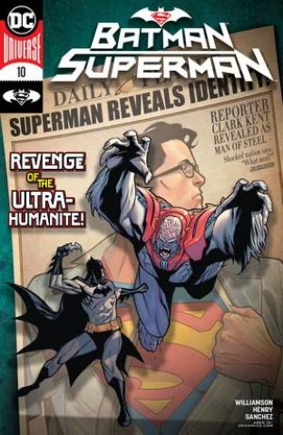 Batman / Superman #10 (Clayton Henry Cover)