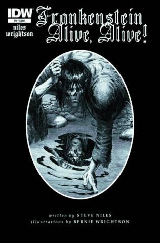Frankenstein: Alive, Alive! #1 (2nd Printing)