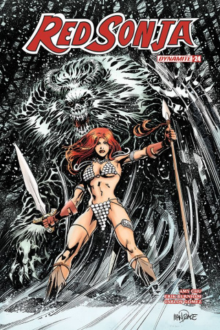 Red Sonja #25 (Mandrake Cover)