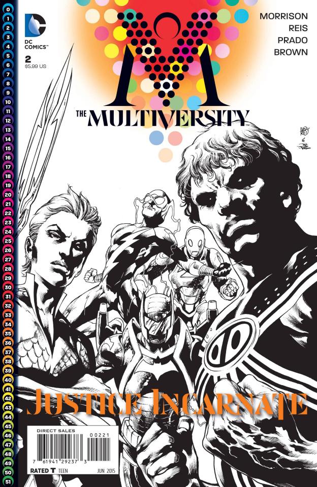 Multiversity #2 (Black & White Variant)