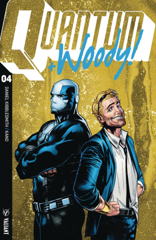 Quantum & Woody #4 (20 Copy Ultra Foil Cover)
