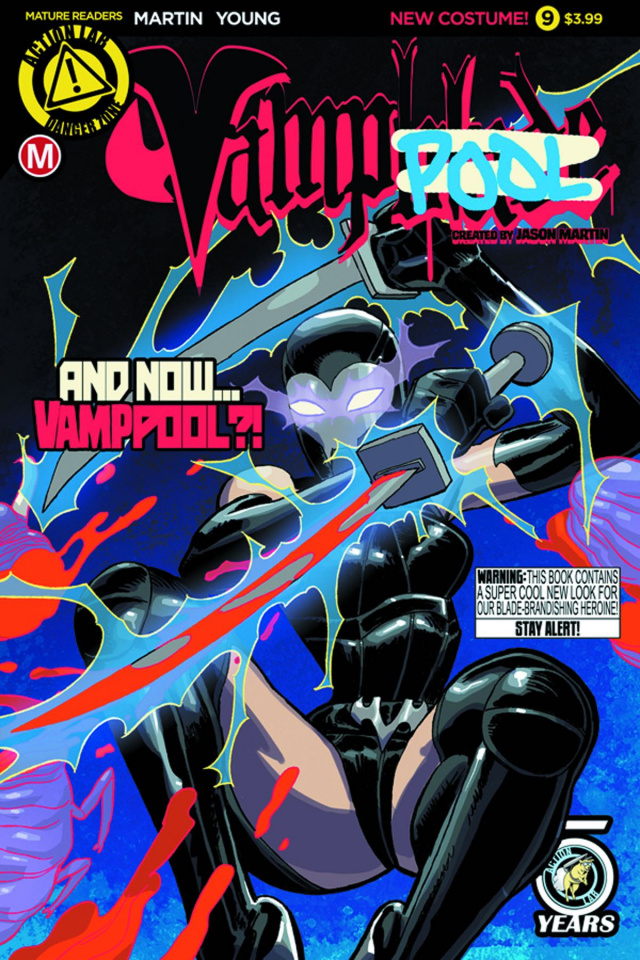 Vampblade #9 (Young Cover)