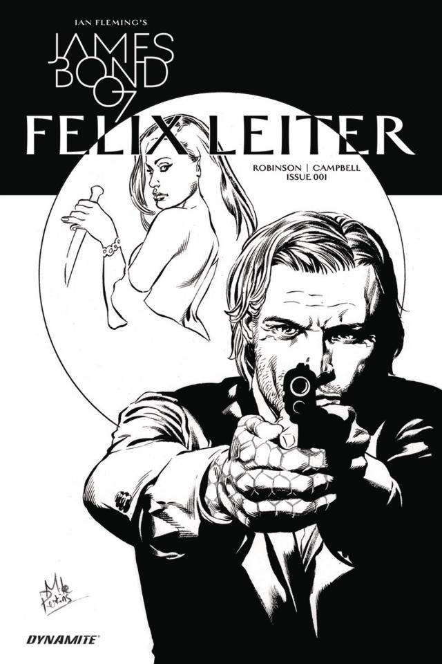 James Bond: Felix Leiter #1 (10 Copy B&W Cover)