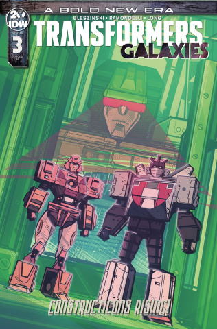 The Transformers: Galaxies #3 (10 Copy Hernandez Cover)