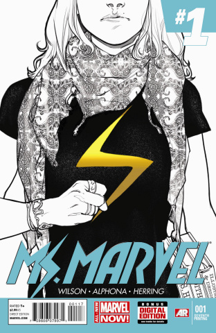 Ms. Marvel #1 (7th Printing)