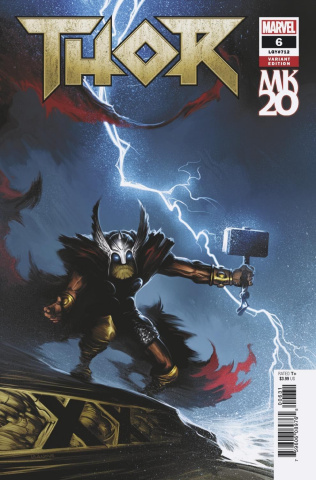 Thor #6 (Isanove MKXX Cover)