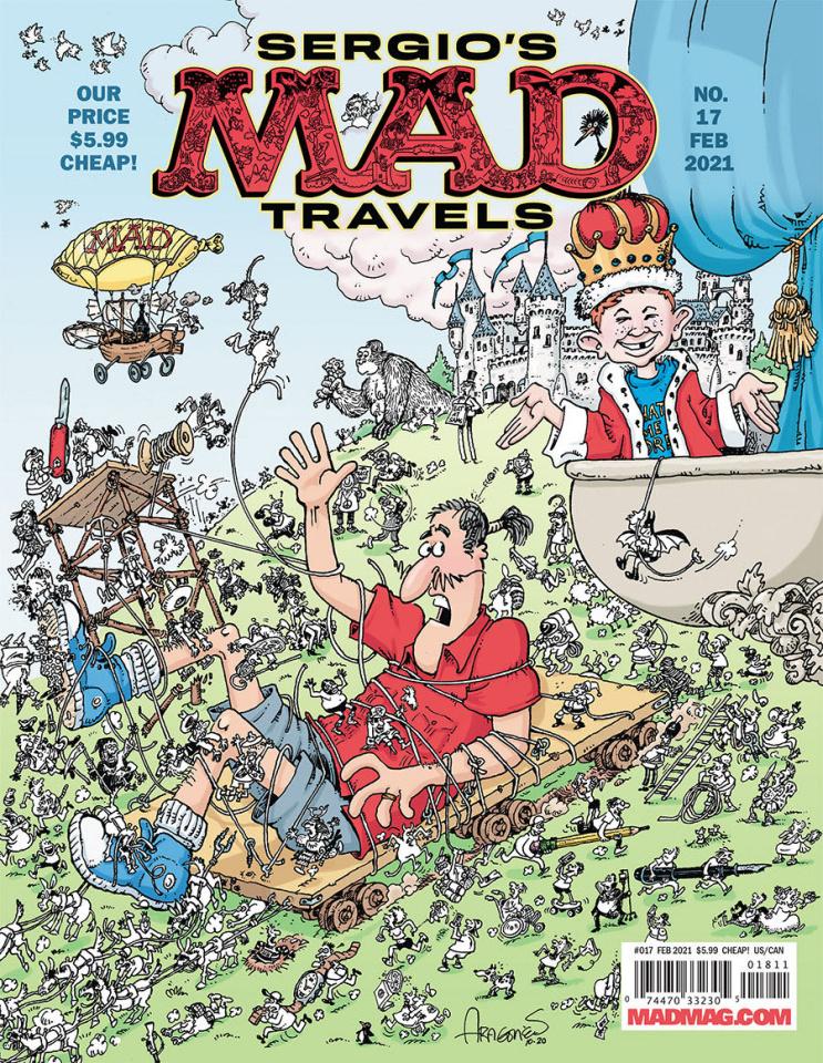MAD Magazine #17