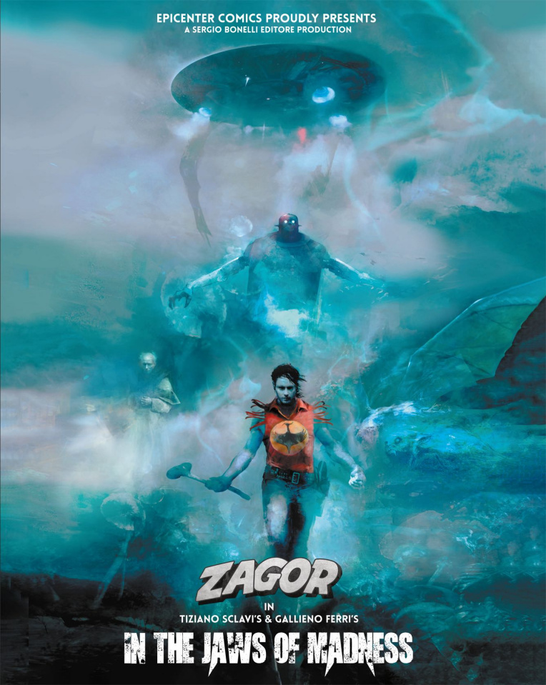 Zagor in the Jaws of Madness