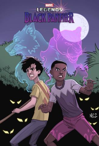 Black Panther: Legends #1 (Artist Cover)