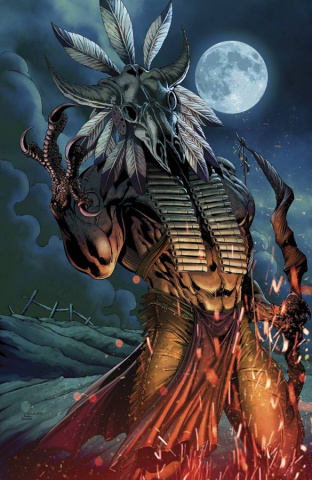 Grimm Fairy Tales: Dark Shaman #3 (Mychaels Cover)