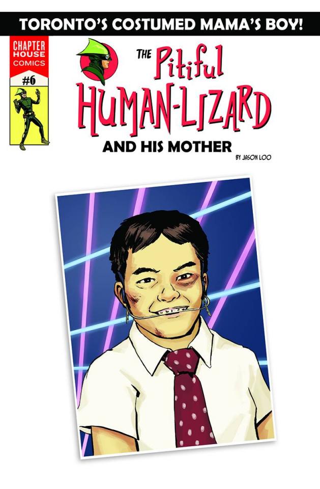 The Pitiful Human-Lizard #6 (Loo Cover)