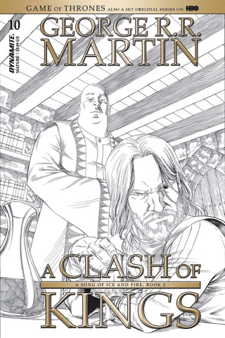 A Game of Thrones: A Clash of Kings #10 (10 Copy Miller B&W Cover)