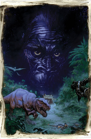 Kong of Skull Island #1 (Auction Sook Cover)