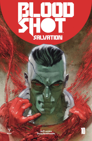 Bloodshot: Salvation #10 (Guedes Cover)