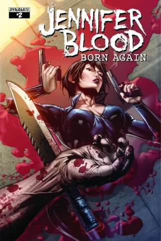 Jennifer Blood: Born Again #2