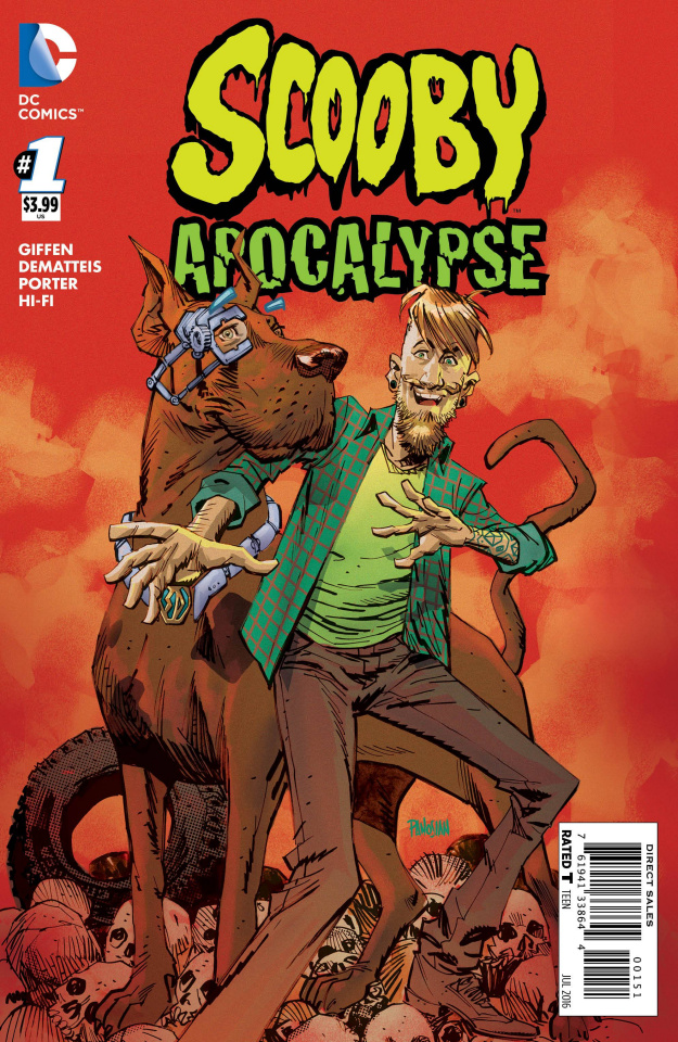 Scooby: Apocalypse #1 (Shaggy Cover)