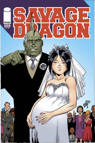 Savage Dragon #209