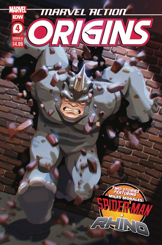 Marvel Action: Origins #4 (Souvanny Cover)