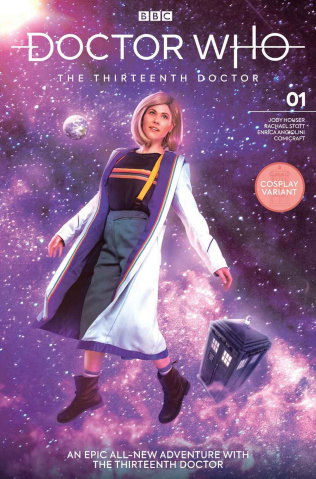 Doctor Who: The Thirteenth Doctor #1 (Stamos Cosplay Cover)