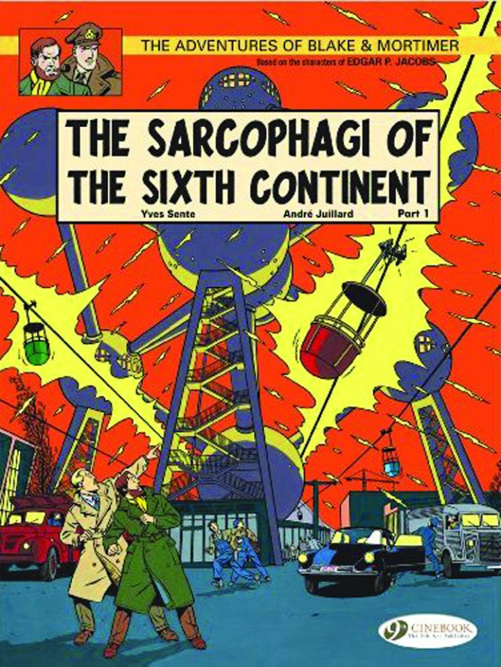The Adventures of Blake & Mortimer Vol. 9: The Sarcophagi of the Sixth Continent, Part 1