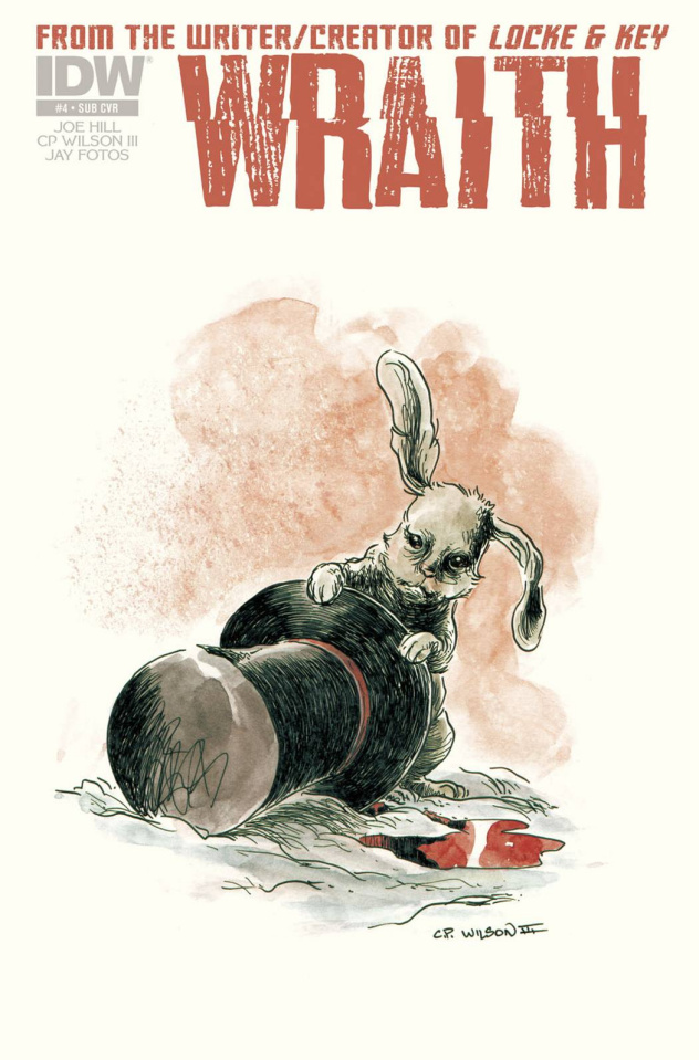 Wraith #4 (Subscription Cover)