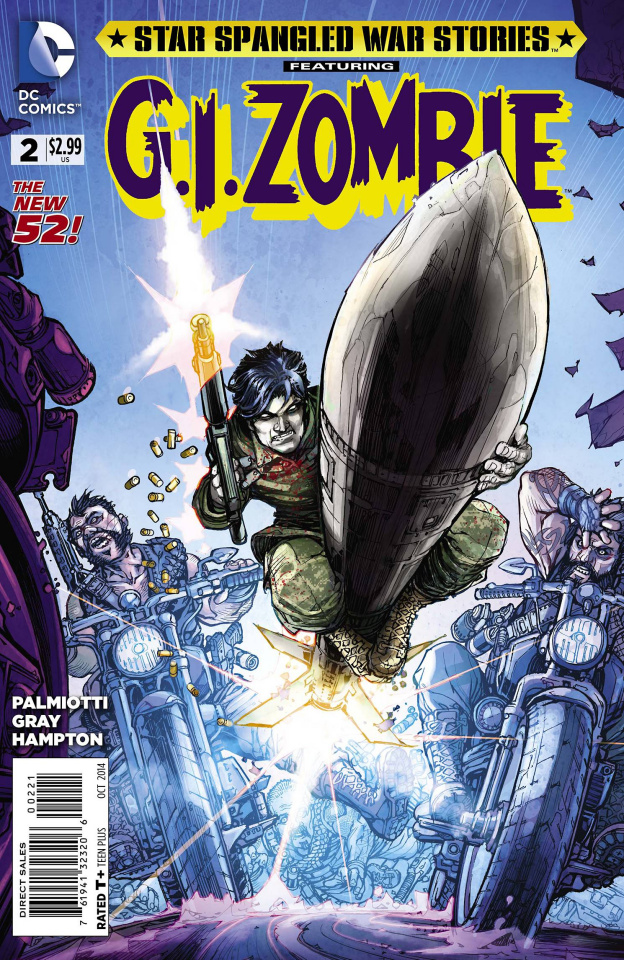 Star Spangled War Stories: G.I. Zombie #2 (Variant Cover)