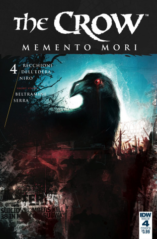 The Crow: Memento Mori #4 (Furno Cover)