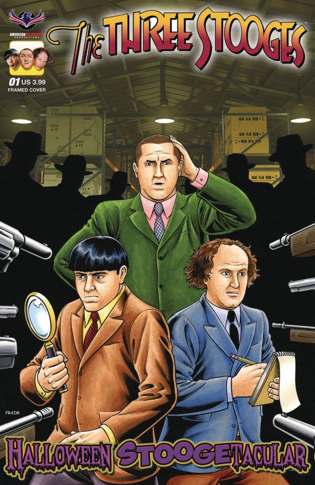 The Three Stooges: Halloween Stoogetacular #1 (Fraim Bros. Framed Cover)