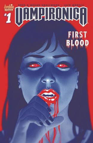 Vampironica #1 (Morrisette-Phan Cover)