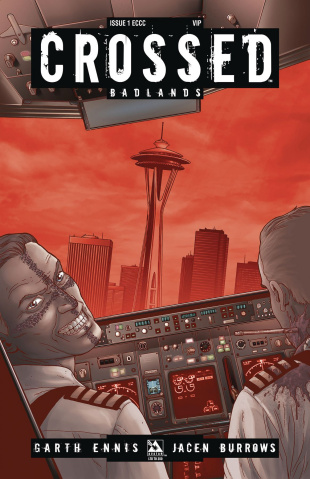 Crossed: Badlands #1 (Emerald City VIP Cover)