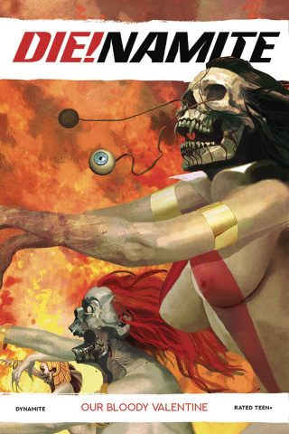 DIE!namite: Our Bloody Valentine (Suydam Cover)