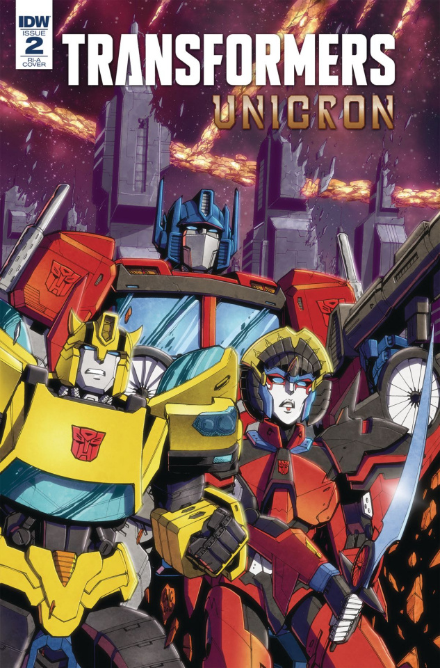 The Transformers: Unicron #2 (10 Copy Coller Cover)