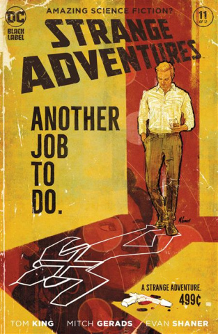 Strange Adventures #11 (Mitch Gerads Cover)
