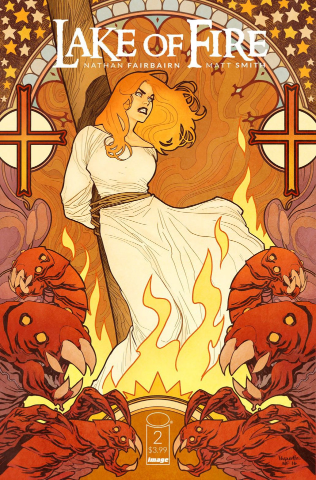 Lake of Fire #2 (Paquette & Fairbairn Cover)