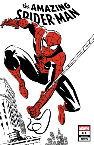 The Amazing Spider-Man #61 (Michael Cho Spider-Man Two-Tone Cover)