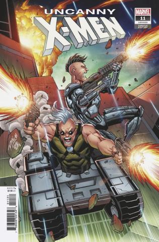 Uncanny X-Men #11 (Lim Cover)