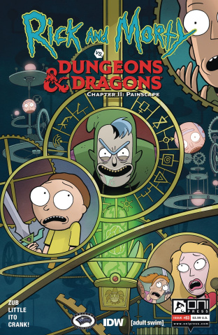 Rick and Morty vs. Dungeons & Dragons II: Painscape #3 (Ito Cover)