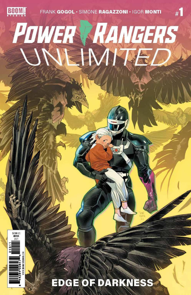 Power Rangers Unlimited: Edge of Darkness #1 (Mora Cover)