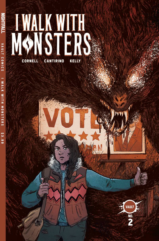 I Walk With Monsters #2 (Cantirino Cover)