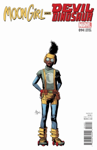 Moon Girl and Devil Dinosaur #14 (Deodato Teaser Cover)