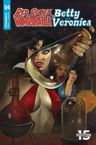 Red Sonja and Vampirella Meet Betty and Veronica #4 (Dalton Cover)