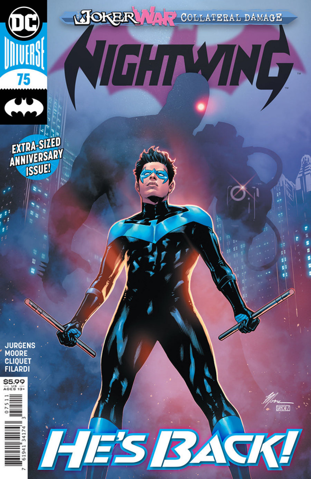 Nightwing #75 (Travis Moore Cover)