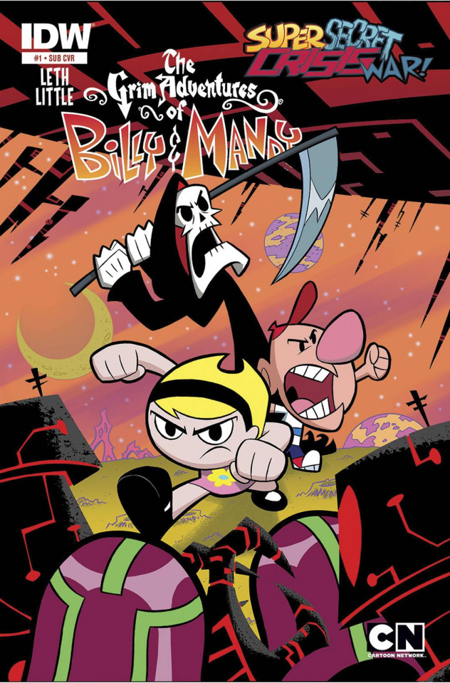 Super Secret Crisis War: The Grim Adventures of Billy & Mandy #1 (Subscription Cover)