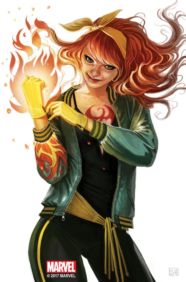 Iron Fist #4 (Hans Mary Jane Cover)