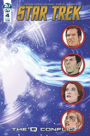 Star Trek: The Q Conflict #4 (Messina Cover)