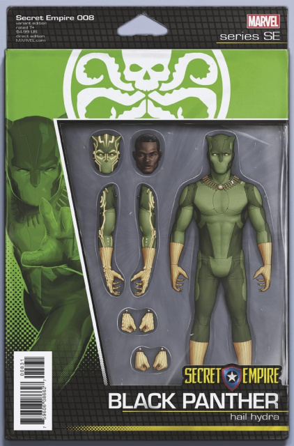 Secret Empire #8 (Christopher Action Figure Cover)