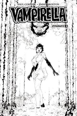 Vampirella #4 (20 Copy Tan B&W Cover)