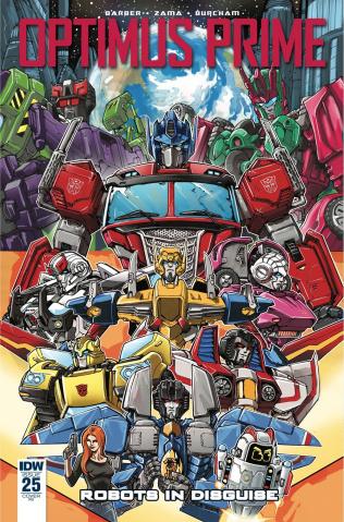 Optimus Prime #25 (10 Copy Griffith Cover)