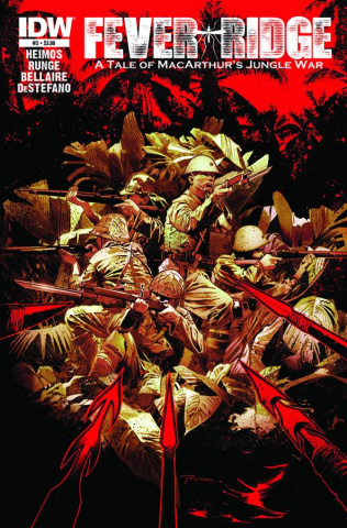 Fever Ridge: A Tale of MacArthur's Jungle War #3 (10 Copy Cover)